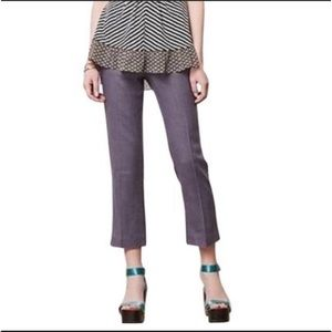 Anthropologie elevenses pants stovepipe trousers